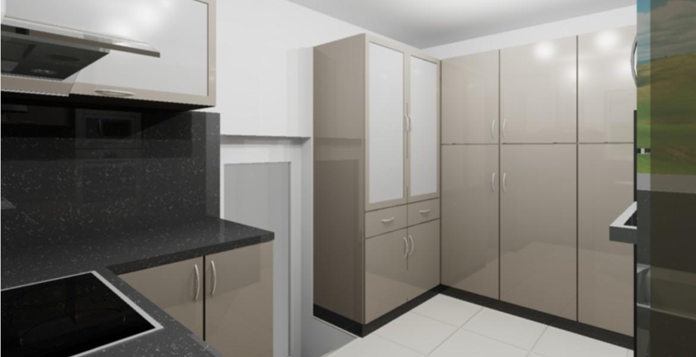 cuisine sur mesure. Black Bedroom Furniture Sets. Home Design Ideas
